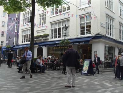 London's Art, Restaurants and Department Stores