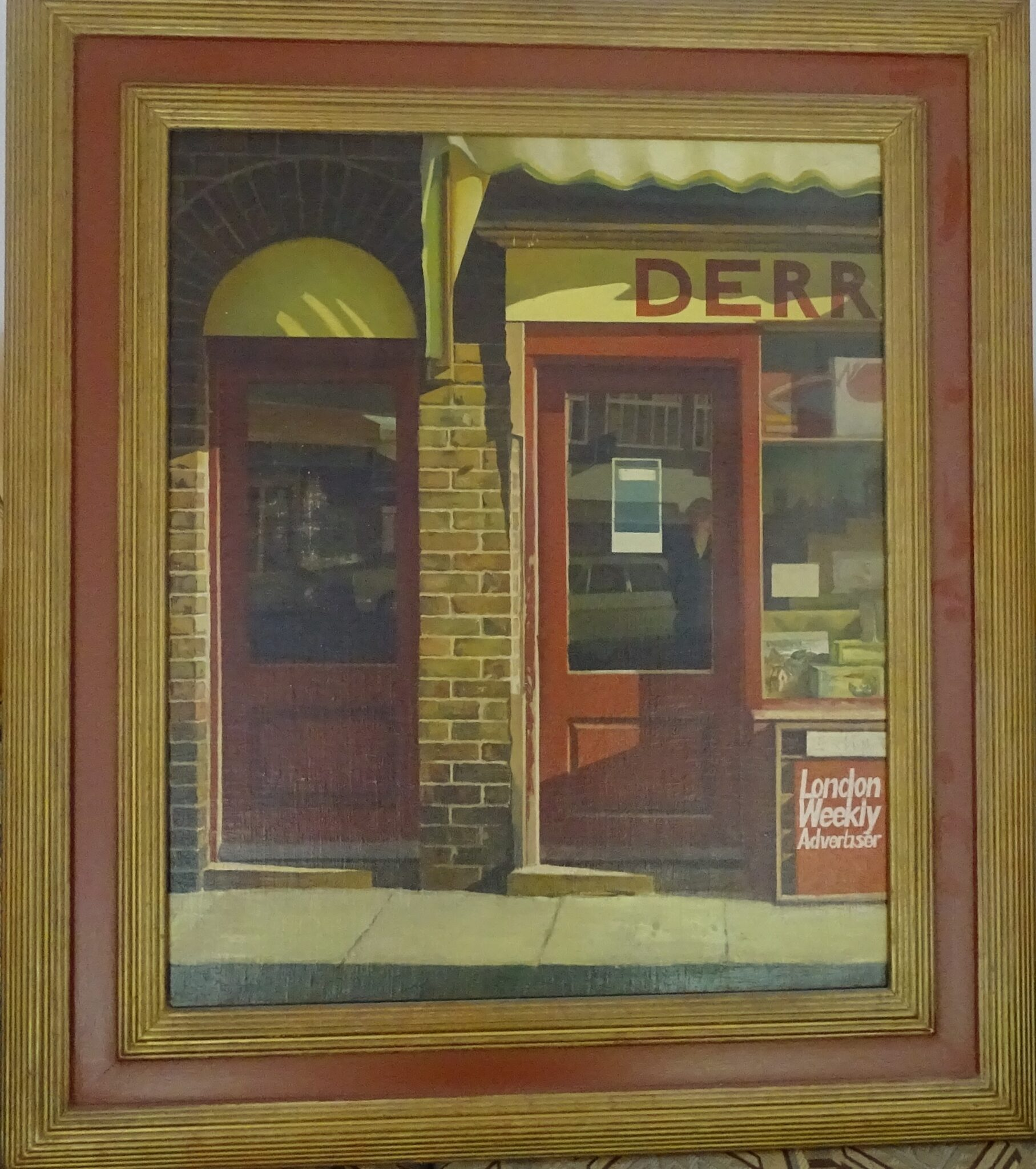 CLIFFORD CHARMAN, AN ARTIST OF 1950s LONDON and SOUTH EAST ENGLAND