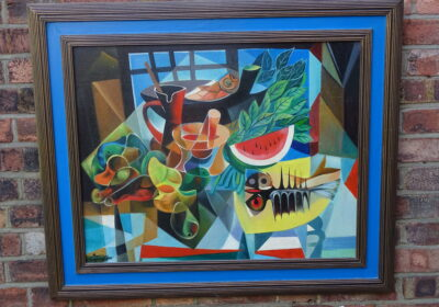 CUBIST ART CAN BE GREAT AT TIMES